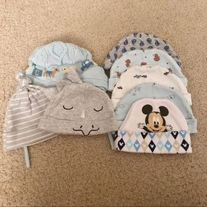 0-6 Months Baby Hats Bundle